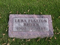 Erma <i>Plaxton</i> Brown