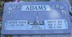 Shirley Mae <i>Schaffner</i> Adams