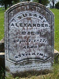 Susan Ruth <i>Reed</i> Alexander