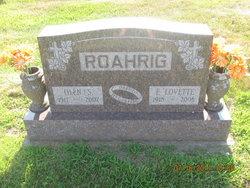 Lovette F. Betts <i>Rhoade</i> Roahrig