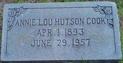 Annie Lou <i>Hutson</i> Cook