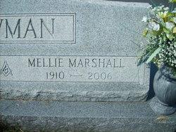 Mellie Gertrude <i>Marshall</i> Bowman