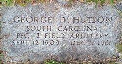 George D Hutson