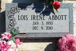 Lois Irene <i>Jones</i> Abbott