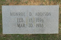 Monroe D. Addison