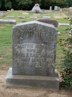 Mattie Estelle <i>Moore</i> Callaway