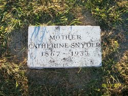 Catherine <i>Snyder</i> Bitner
