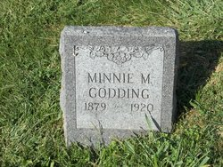 Minnie Mabel <i>Sauvain</i> Godding