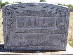 Martha Jane <i>Bell</i> Baker