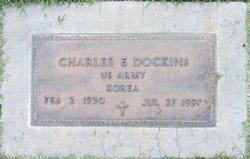 Charles E Dockins