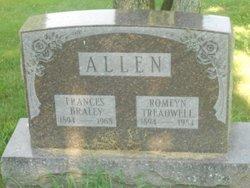 Frances <i>Braley</i> Allen