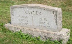 Edna M. Kayser