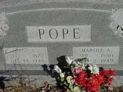 Martha Ann <i>Strickland</i> Pope