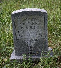 Addie Jane <i>Minor</i> Barnett