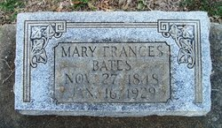 Mary Frances <i>Brooks</i> Bates