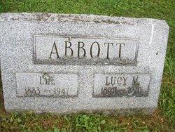 Lucy Bell <i>Marvin</i> Abbott