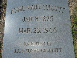 Annie Maud Colquitt