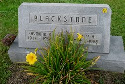Betty H <i>Sibila</i> Blackstone
