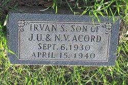 Irvan S Acord
