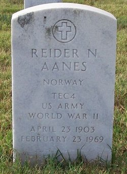 Reider Nelson Aanes