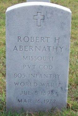Robert H Abernathy