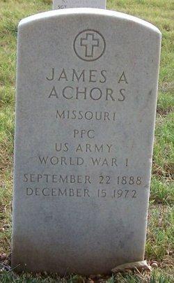 James A Achors