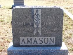 Sarah Nancy <i>Eiland</i> Amason
