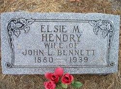 Elsie M <i>Hendry</i> Bennett