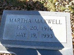 Martha <i>Maxwell</i> Breeden