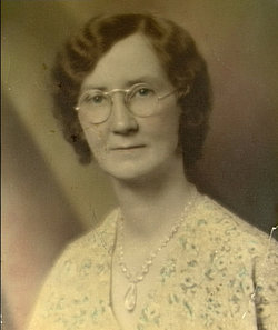 Mae Elizabeth <i>Shafer</i> Brown