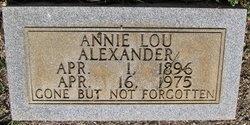 Annie Lou Alexander