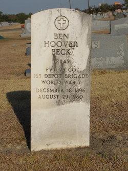 Ben Hoover Beck