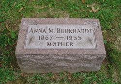 Anna M. <i>Sachleben</i> Burkhardt