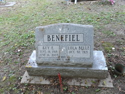 Lola Belle <i>Mumma</i> Benefiel