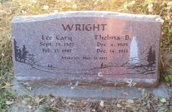 Lee Cary Wright