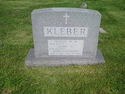 Marie Caullet <i>Cleary</i> Kleber
