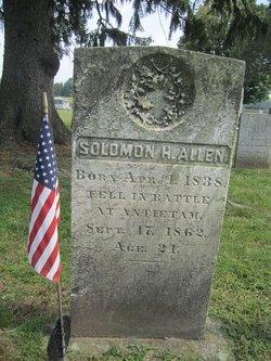 Solomon H Allen