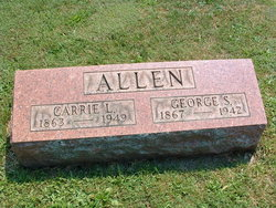 Carrie Louise <i>Miunsell</i> Allen
