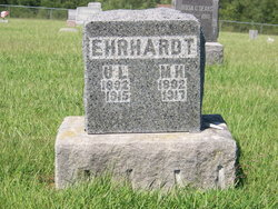 Minnie L <i>Hicken</i> Ehrhardt