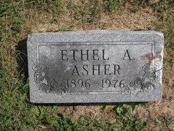 Ethel Alice <i>Sawyer</i> Asher