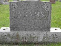 Estella E. <i>Grube</i> Adams
