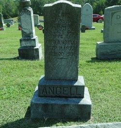 Margaret Elizabeth Maggie <i>Gaither</i> Angell