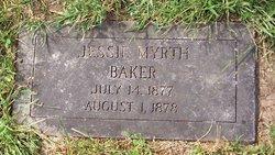 Jessie Myrth Baker