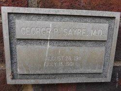 Dr George P. Sayre