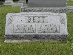 Lydia M. <i>Thornhill</i> Best