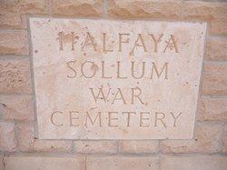 Halfaya Sollum War Cemetery