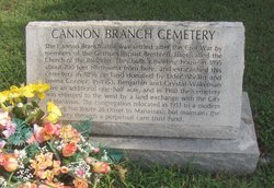 Cannon Branch Cemetery
