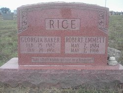 Georgia Ann <i>Baker</i> Rice