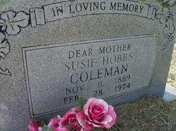 Susan A. Susie <i>Cradduck</i> Coleman