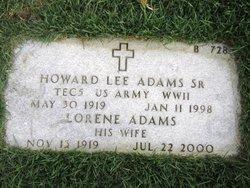 Howard L. Adams, Sr